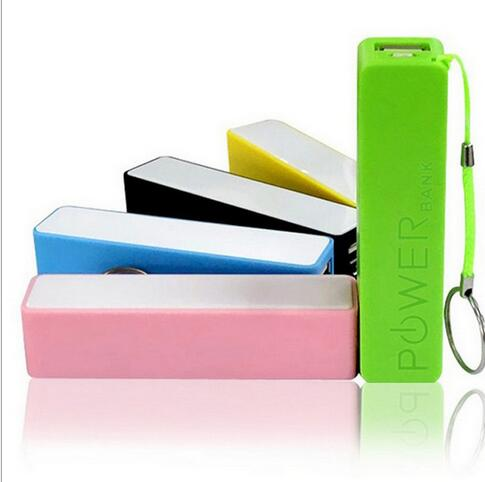 Colorful perfume cute gift 2600mah Power Bank